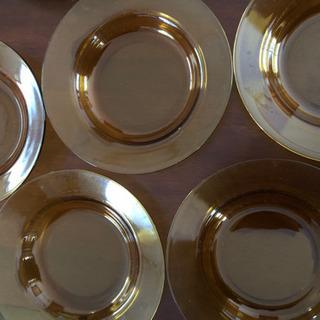 ガラスのお皿 5皿