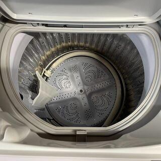 ☆SHARP シャープ 5.5kg洗濯機 乾燥機能付き ES-T5E4 エディオンオリジナルモデル 2016年製 - 家電