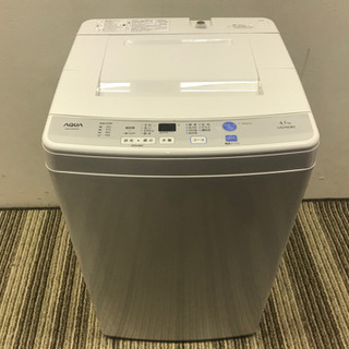 011607☆アクア 4.5kg洗濯機 16年製☆
