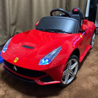 子供用電動車フェラーリ野外使用は2回のみ