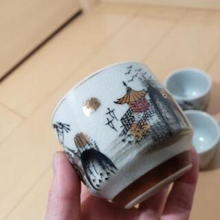 九谷焼 湯飲み 5点セット - 名古屋市
