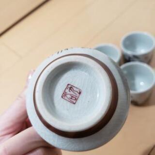 九谷焼 湯飲み 5点セット − 愛知県