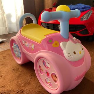 子供用足蹴り車(キティちゃん)