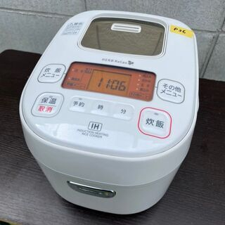 №p36 アイリスオーヤマ IH炊飯ジャー 炊飯器 2017年製...