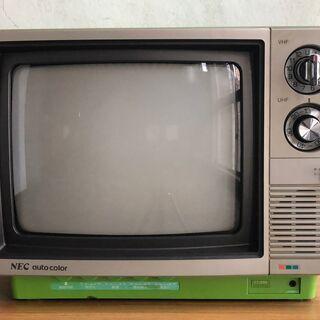 アナログカラーテレビ NEC CT-258 通電確認済 無人受け渡し可