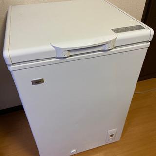 「保証期間中」「値下げ」ハイアール冷凍庫JF-NC103F-W