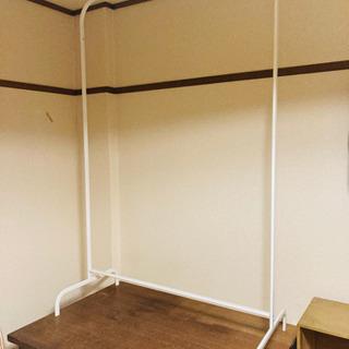 【IKEA】MULIG/ムーリッグ 洋服ラック ホワイト99x1...