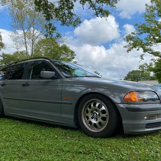 BMW e46 ツーリングワゴン エアサス公認 サンルーフ