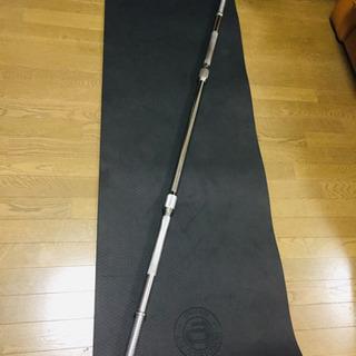 バーベルシャフト 重量約10kg  長さ198cmシャフト径28mm