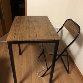 【ネット決済】テーブルとイスセット