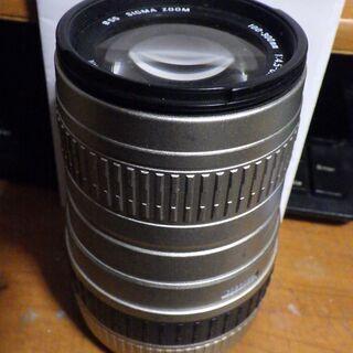 CANONマウント SIGMA 100-300mmレンズ