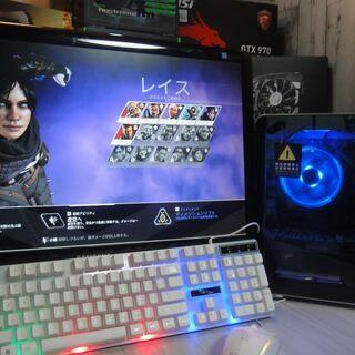 すぐ遊べるゲーミングPCセット【PC+モニター+キーボード+マウス】