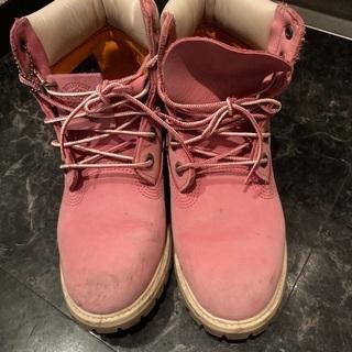 ティンバー 靴