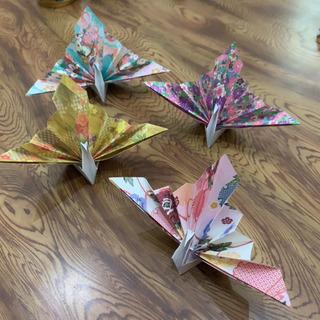 祝い鶴☆アソート☆飾り☆折り紙☆インテリア