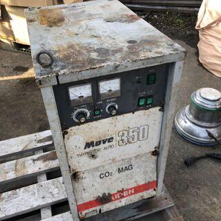 値下げ★ジャンク品★ダイデン ムーブ350 半自動溶接機 CR-M351 350A CO2/MAG 200Vの画像