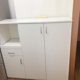 レンジボード 食器棚 ホワイト 値下げしました