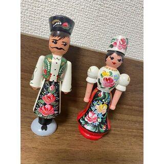 ハンガリー 民族衣装 置き物