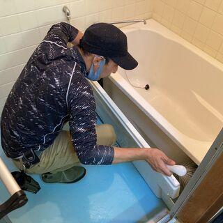 【浴室清掃 12,800円】高圧洗浄で水垢、カビを徹底除去!エプ...