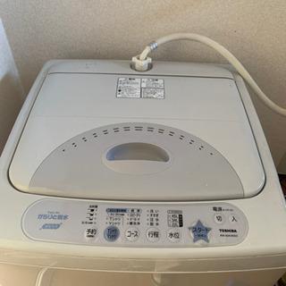 からりと脱水、濃縮洗浄TOSHIBA洗濯機