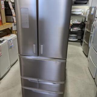 TOSHIBA 510L 6ドア冷凍冷蔵庫 GR-H51FX(N...