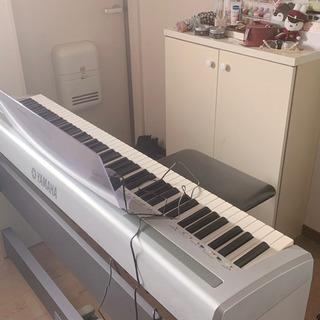 【無料】ヤマハ 電子ピアノ + 椅子