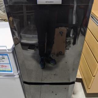 MITSUBISHI 146L 2ドア冷凍冷蔵庫 MR-P15T...