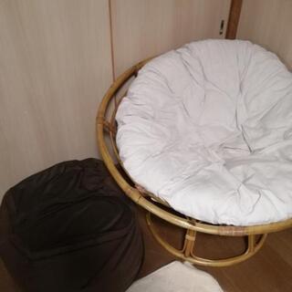 クッション 椅子 ビーズ