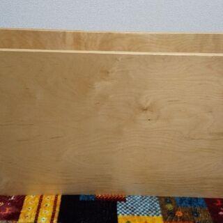 キャスター付木製収納 ローテーブル テレビ台等にも