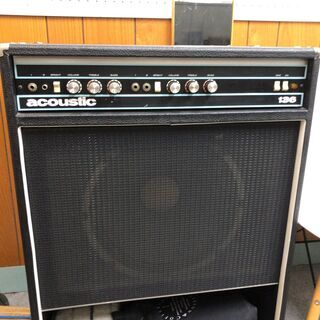 【ネット決済】Acoustic 136 ベースアンプ 125W