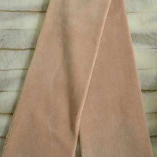【受付中・送付可能】新品タグ付GU ジーユー ボアストール 和装・洋装どちらにも似合います! ふあふあ柔らか&暖かい♪ ベージュ 定価1990円 早い者勝ちです✨✨   - 中野区