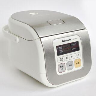 2015年 パナソニック panasonic 3合炊き自動炊飯器...