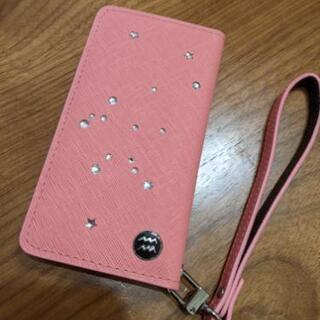水瓶座 スマホケース iphone12mini ピンク