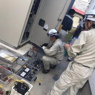 🔥限定2名様🔥経験者で電気工事士の経験積める仕事探してる方必見⚠️