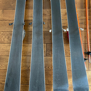 スキー板 子ども用 120cm 130cm ストック − 東京都