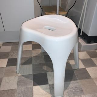 IKEA バスチェア 脚長