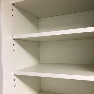 大塚家具の食器棚白★家まで取りに来れる方又はご自身で配送できる方限定★ - 家具