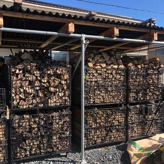 薪ストーブ用薪売ります。軽トラ平積み¥16,000