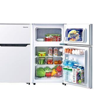 C3【未使用】Hisense 2ドア冷凍冷蔵庫 HR-B95A ...