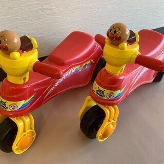 アンパンマンの三輪車 2台