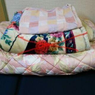 毛布お渡し先決定しました。掛け布団&カバー