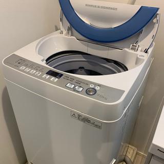 SHARP 洗濯機 7キロ 2016年製