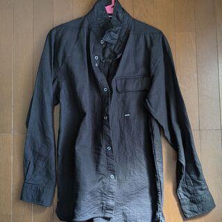 長袖シャツ 黒 Lサイズ メンズ