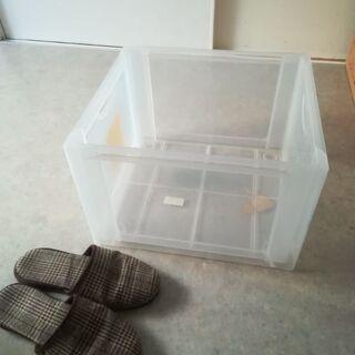(無料)プラスチック収納ケース
