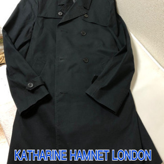 KATHARINE HAMNET LONDON トレンチコート