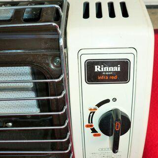 ☆リンナイ Rinnai R-62P-402 都市ガス用ガスストーブ infra red ファンヒーター◆寒い日のお供に - 横浜市
