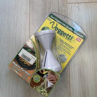 新品未使用 Veggetti 野菜パスタが作れるらせん状 野菜ス...