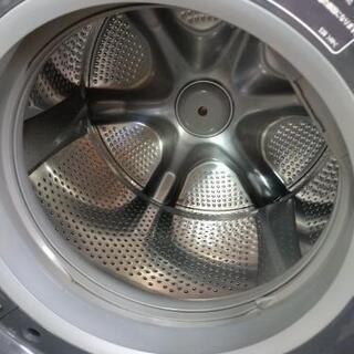 J025★1年保証★10K/6Kドラム洗濯乾燥機★HITACHI BD-SG100AL 2017年製  - 家電