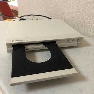 【中古】ヴァーテックススタイル DVDプレーヤー「DVD-V303WH」  - 家電