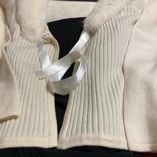 ❗️新品❣️お値下げしました❗️白いセーター、コメントください。