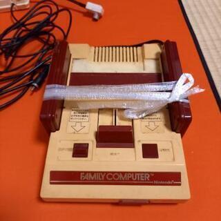 【人に渡さずに処分しました!】月曜日まで!懐かしのファミコン! テレビコード付き の画像